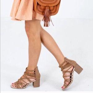 dv by Dolce Vita Adira Gladiator heeled sandals